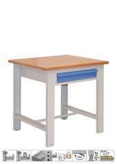 WORKBENCH WITH ADJUSTABLE LEGS (850x720x830-930 mm)