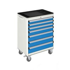 MOBILE TOOL CABINET (700x450x930 mm) 7 DRAWERS