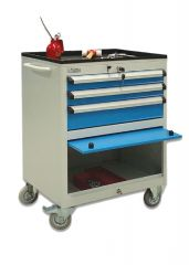 MOBILE TOOL CABINET (600x450x840 mm) 3 DRAWERS