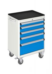 MOBILE TOOL CABINET (600x450x840 mm) 5 DRAWERS
