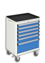 MOBILE TOOL CABINET (600x450x840 mm) 6 DRAWERS