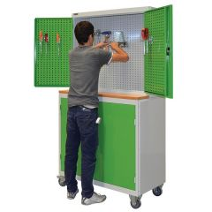 MACHINE TOOL CABINET (1000x500x1950 mm) / Without hooks