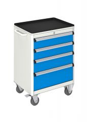 MOBILE TOOL CABINET (600x450x840 mm) 4 DRAWERS